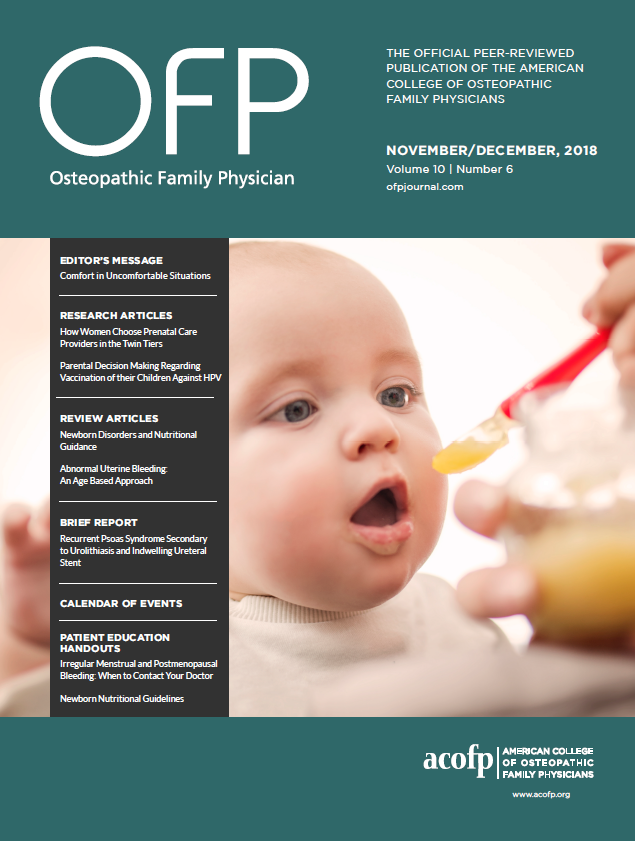 November/December 2018 OFP Journal